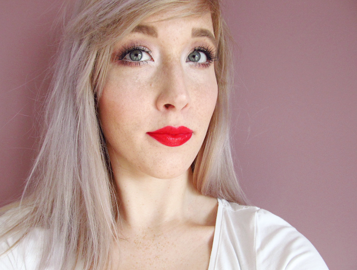 loreal lip paint red actually