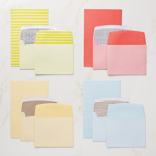 Tutti Frutti Cards and Envelopes - Pre pattered cards bases and matching envelopes. They come in great colours and make card making so much quicker and easier - They are also FREE with a qualifying order until the end of March, 2018 - Get yours now - https://www3.stampinup.com/ECWeb/product/147242/tutti-frutti-cards-and-envelopes?dbwsdemoid=4008228