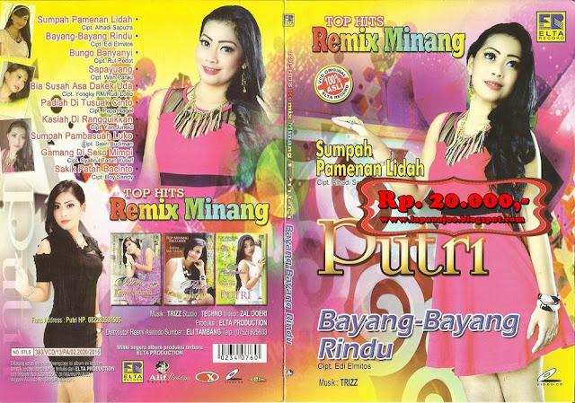 Putri - Bayang Bayang Rindu (Album Top Hits Remix Minang)