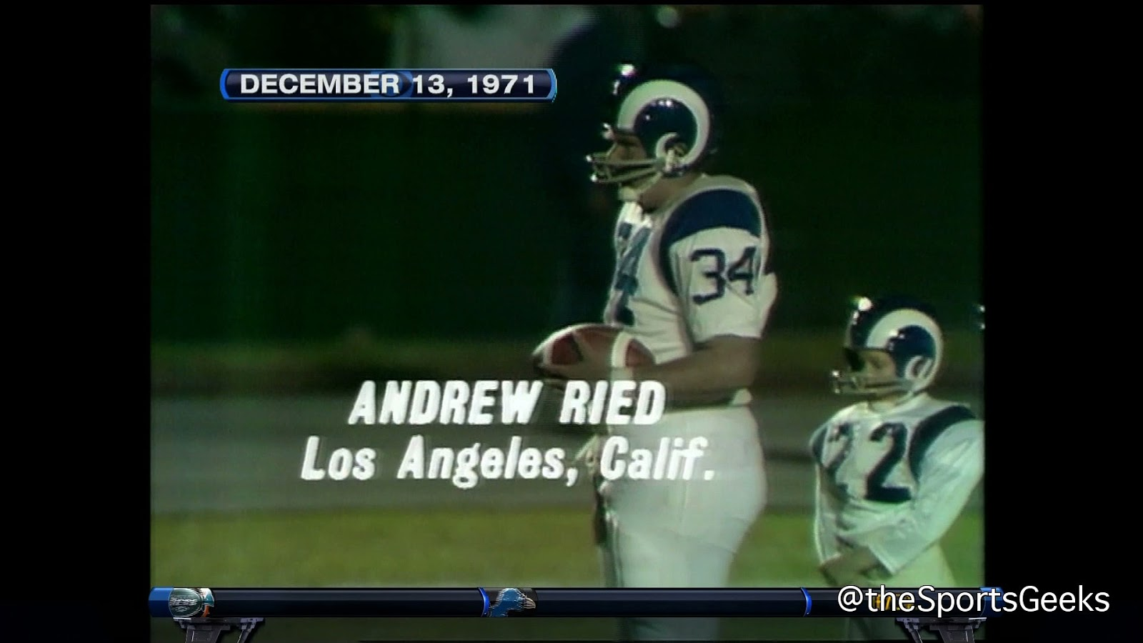 andy reid punt pass kick - Andy Reid at Age 13(looks like 26) punt pass kick YouTube