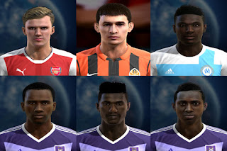 Mix Facepack Europe V5 PES 2013