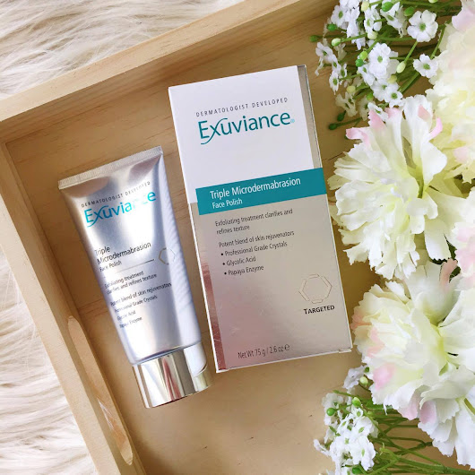 Exuviance Triple Microdermabrasion Face Polish Review
