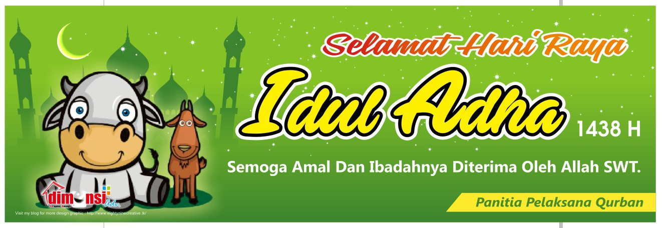 Download Desain Spanduk Idul Adha 1438 H New Vector CDR ...