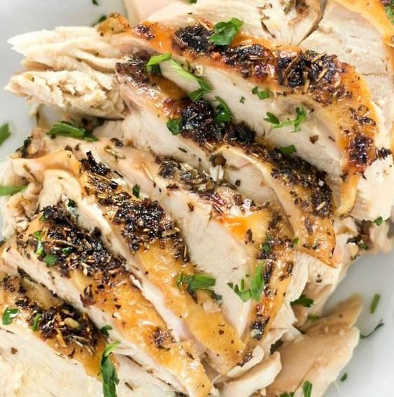 HERB ROASTED CHICKEN BREASTS #dinner #deliciouschicken