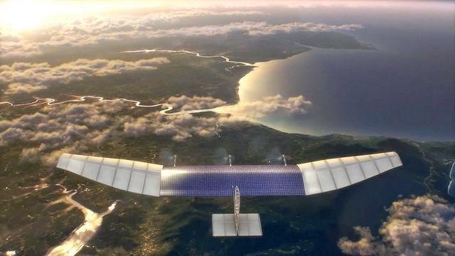 Το Facebook δίνει internet σε όλο τον κόσμο με αεροπλάνα χωρίς πιλότους