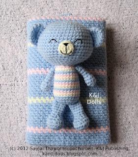 Baby Bear Amigurumi Crochet Pattern Sayjai Amigurumi