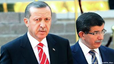 صراع الاصدقاء, العدالة والتنمية, اردوغان, اوغلو, عداء اردوغان واوغلو,