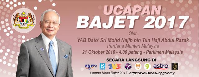 Perbentangan Bajet 2017 Belanjawan Malaysia