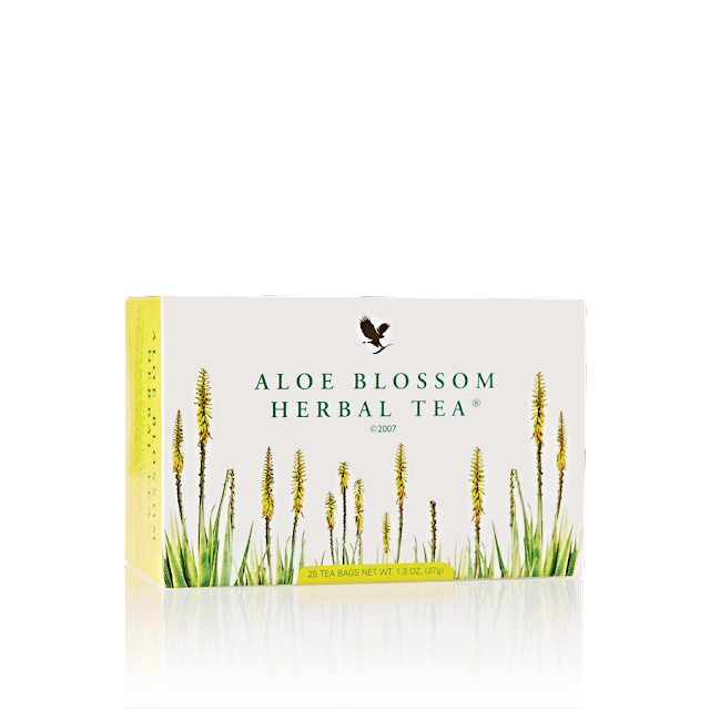 How Aloe Blossom Herbal Tea® Promotes Weight Loss