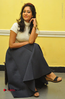 Telugu Actress Sindhu Affan Latest Pos in Black Skirt at Www.Meena Bazaar Movie Opening  0037.JPG