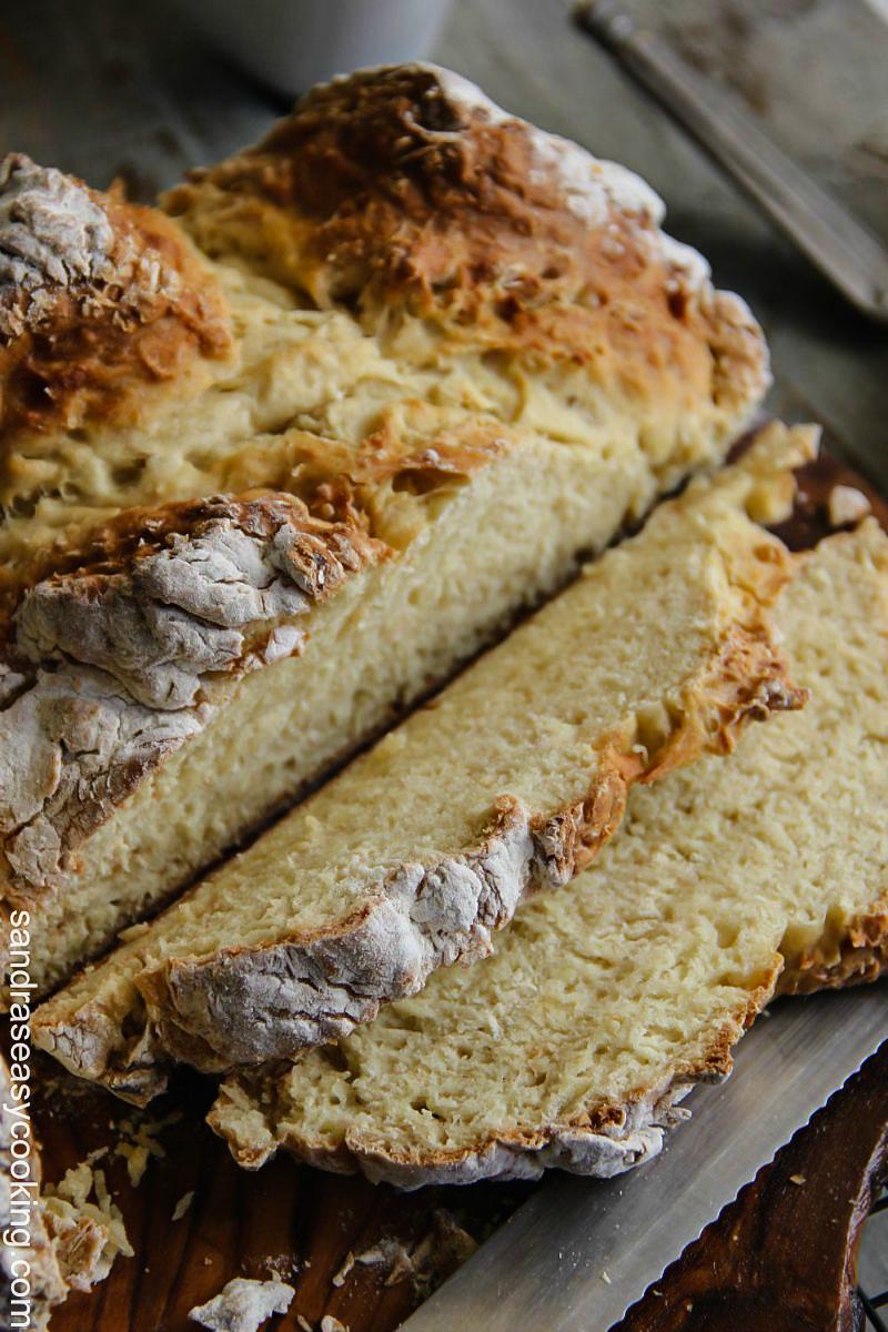 Quick Irish Soda Bread {recipe} with a video