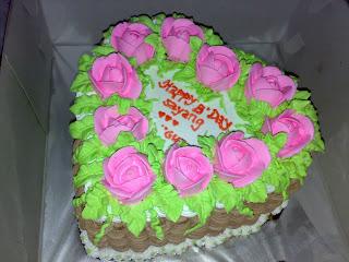 cake mawar padang