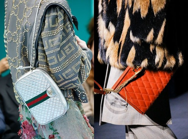 Fall-Winter 2018-2019 Women's Quilted Handbags Fashion Trends