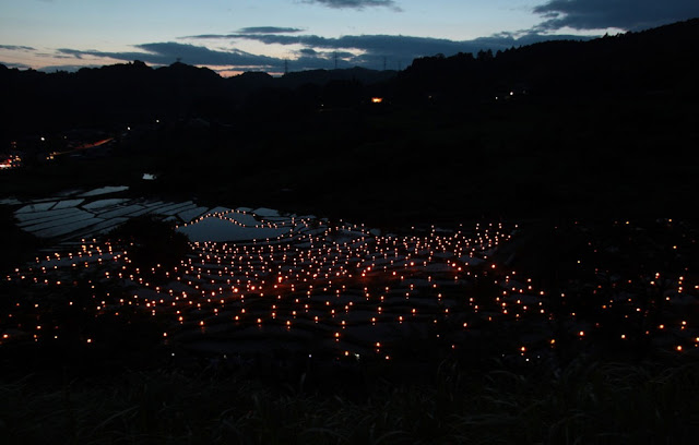 Terraced Rice Fields Festival at Sengamachi, Kikukawa City, Shizuoka