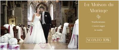organizza matrimonio sconto