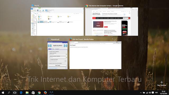 Daftar Lengkap Shortcut Windows 10