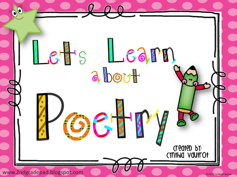 2nd grade pad let 39 s learn about poetry. Black Bedroom Furniture Sets. Home Design Ideas