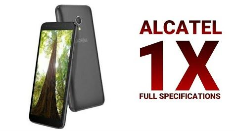 Alcatel 1X will be coming with Android Go Edition, see specification and Price