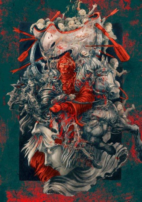 Patricio Clarey artstation arte ilustrações surreais fantasia quadrinhos