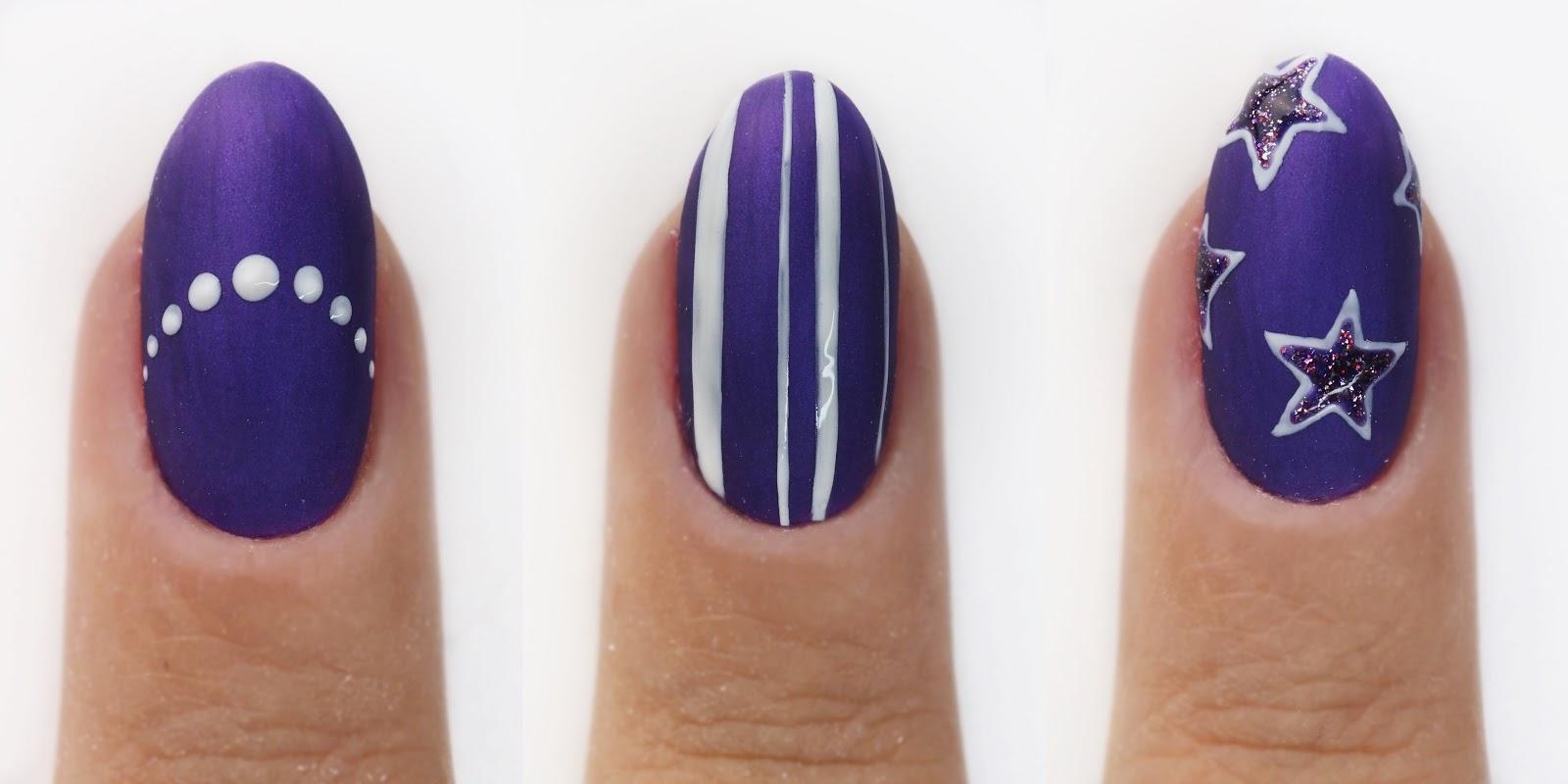 jak pomalować krótkie paznokcie