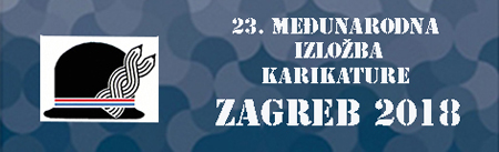 23 International Cartoon  Exhibition Zagreb 2018