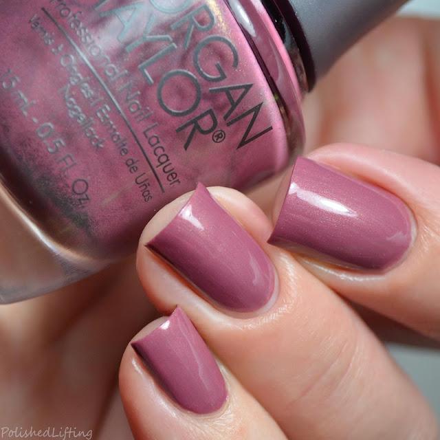 mauve pearl nail polish