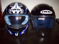 Perbedaan Helm INK Asli dan Palsu