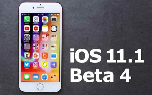 ابل تطلق iOS 11.1 Beta 4