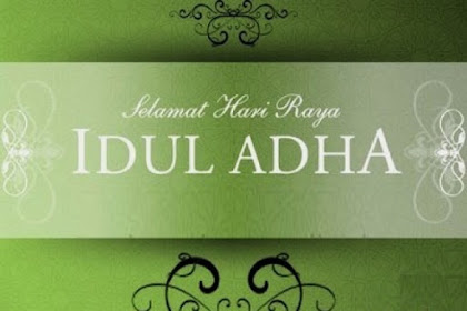Selamat Har Raya idhul adha
