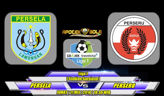 Prediksi Persela Lamongan vs Perseru Serui 11 Mei 2018