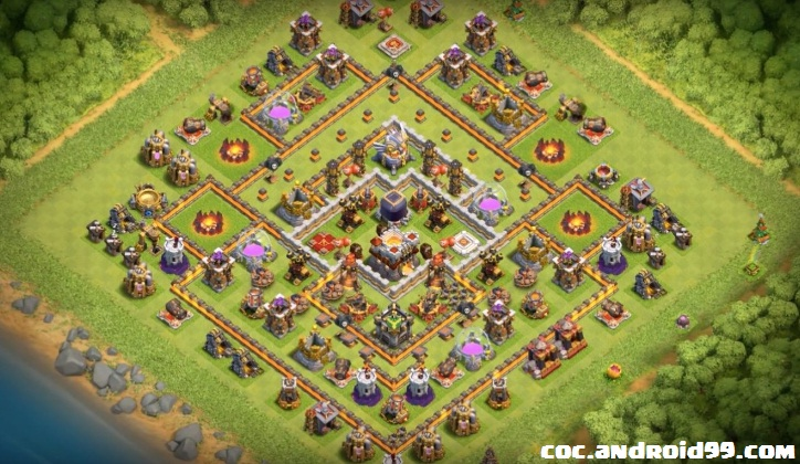 Base Coc Th 11 Terkuat Di Dunia 4