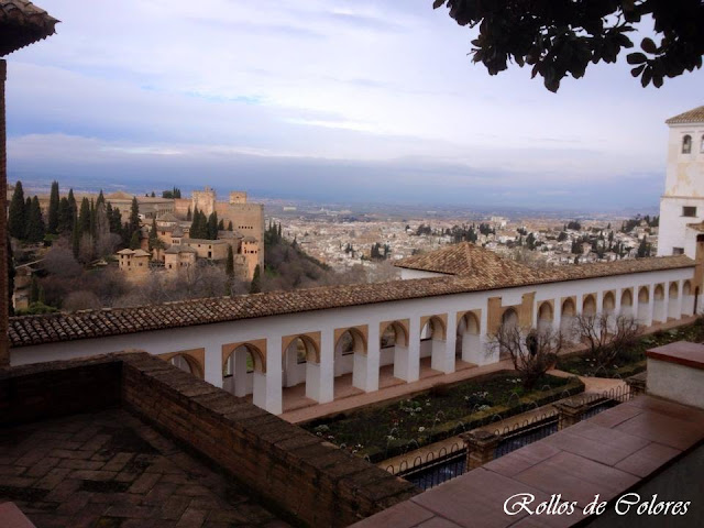 Alhambra de Granada. Generalife.