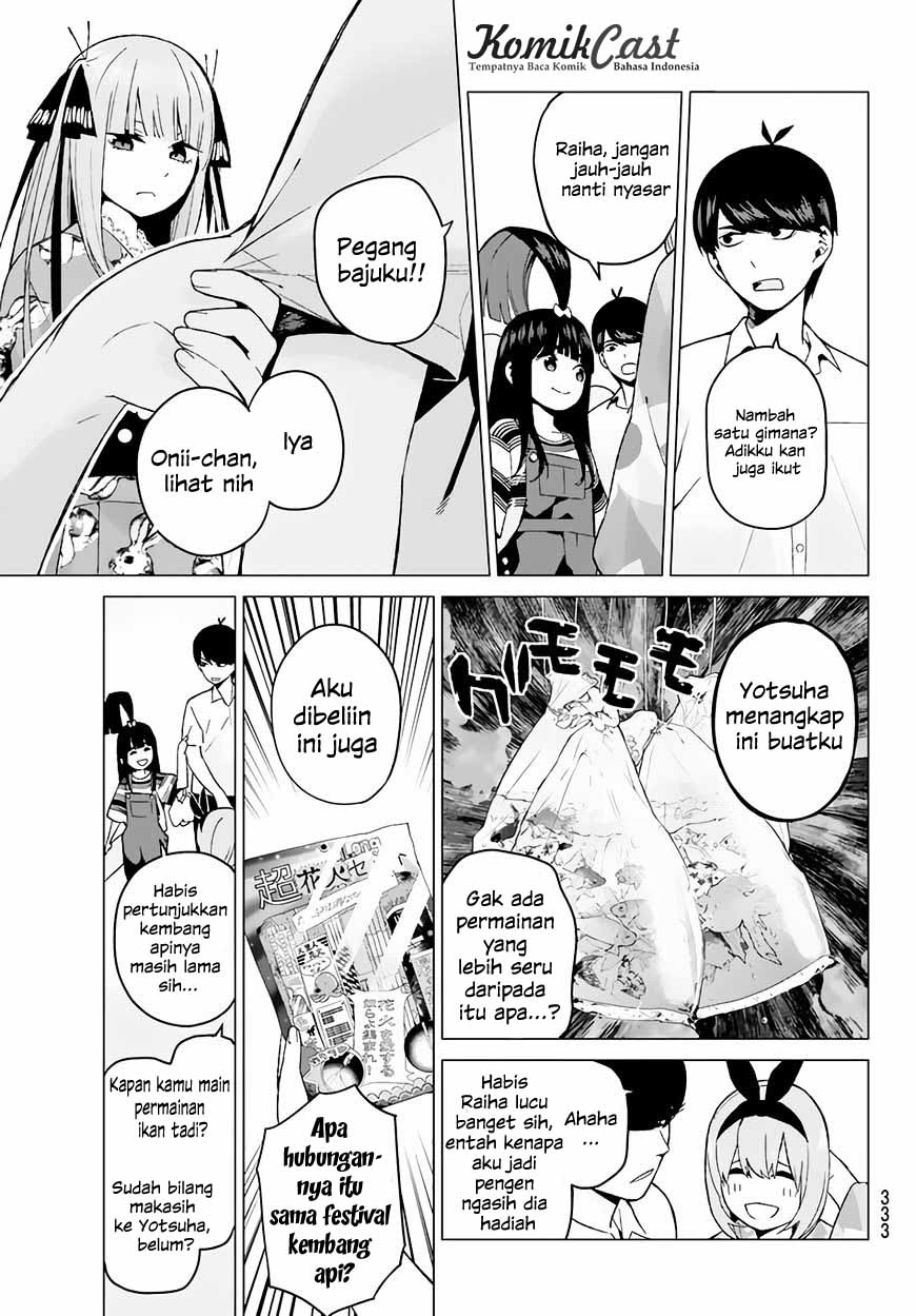 Komik Go-toubun No Hanayome Chapter 8 Bahasa Indonesia