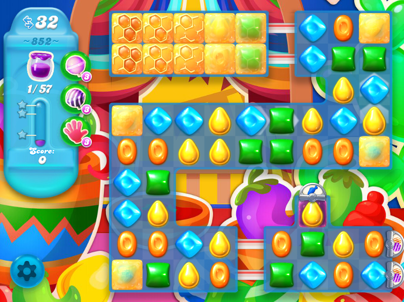 Candy Crush Soda Saga 852