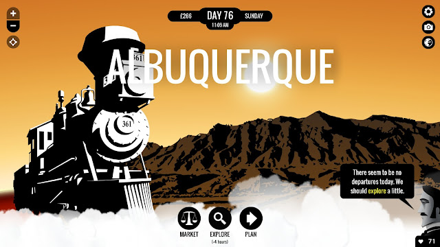 Screenshot of 80 Days game by inkle and Cape Guy Ltd