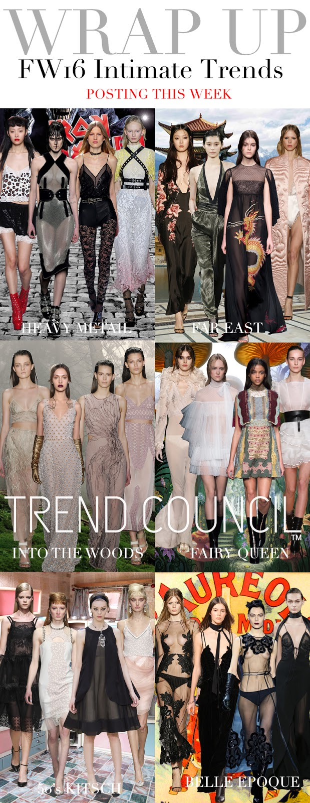TRENDS // TREND COUNCIL - INTIMATE TRENDS . FW 2016