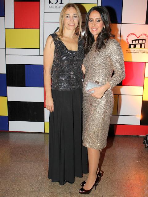 Roxana Salerno y Vanesa de Noble Herrera