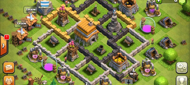 لعبة clash of clans للايفون