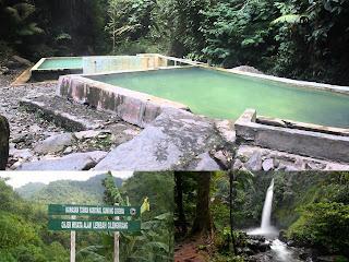Wisata Pemandian Air Panas Dan Air Terjun Di Lembah Cilengkrang