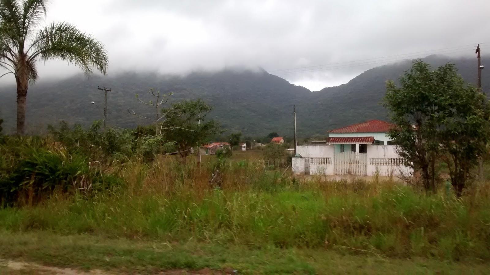 Ana Dias, na divisa entre Peruíbe e Itariri