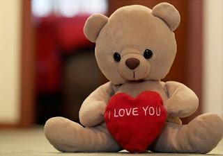 Boneka beruang love 31