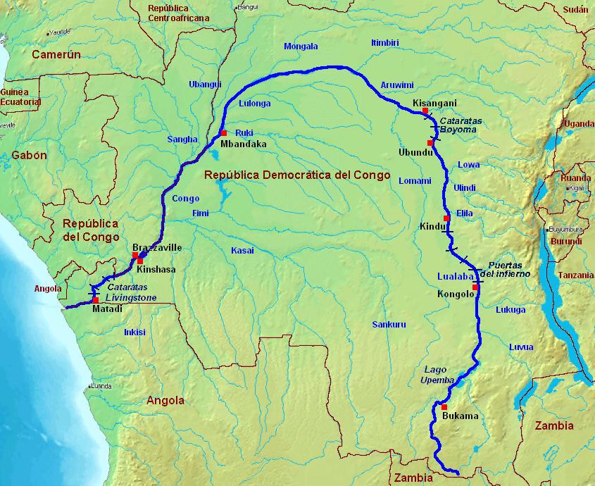 mapa dos rios de angola Rios De Angola mapa mapa dos rios de angola
