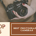 Top 5 Best DSLR Cameras for Photography Lovers 2018