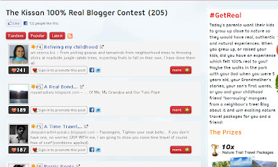 Kissan and IndiBlogger Result