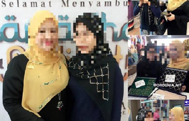 Puan Nurul Asmat, Inilah Wajah Wanita Pembeli Tudung Harga RM10 Ribu!..