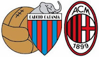 Hasil dan Video Highlights Catania vs AC Milan