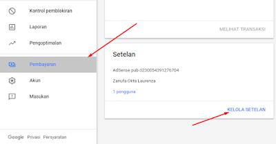 Cara Mengganti Alamat Di Google Adsense