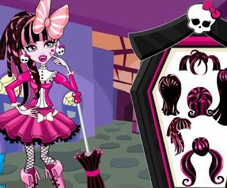 Juego De Draculaura Para Vestir Juegos Monster High