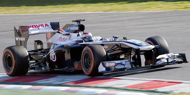 Gambar Mobil Balap F1 Williams 01