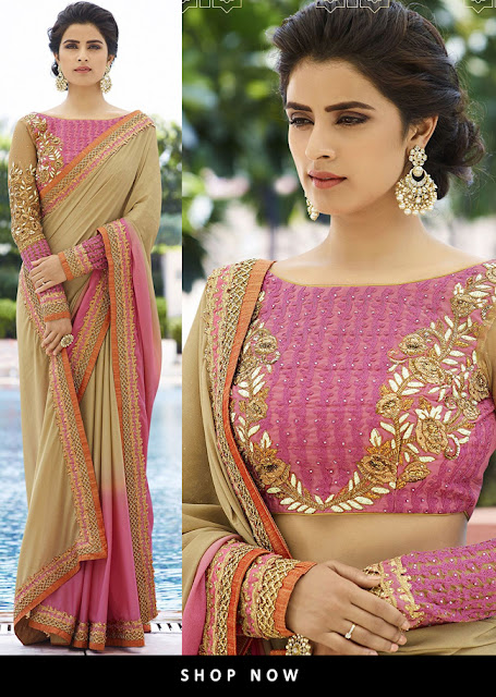 Look Indian in Traditional Indian Women Saree